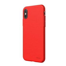 ELAGO エラゴ iPhone XS Max対応 SLIMFIT2018 ELI9LCSPCF1RD Red