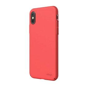 ELAGO エラゴ iPhone XS Max対応 SLIMFIT2018 ELI9LCSPCF1IR ItalianRose