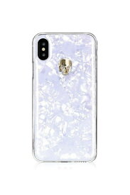 Bling My Thing ブリングマイシング iPhoneXS対応 TreasureWhite BMI9SCSDLTWGS GOLDSKULL