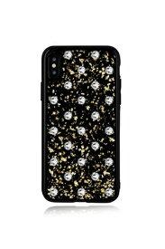 Bling My Thing ブリングマイシング iPhoneXS対応 PolkaDotsBlack BMI9SCSDLPBCT CRYSTAL