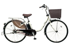 パナソニック Panasonic 26型 電動アシスト自転車 ビビ・DX(オフホワイト/内装3段変速)BE-ELD635F2【2019年モデル】【組立商品につき返品不可】【b_pup】 【代金引換配送不可】