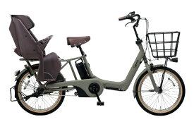 パナソニック Panasonic 20型 電動アシスト自転車 ギュット・アニーズ・DX(マットオリーブ/内装3段変速)BE-ELAD03G【2019年モデル】【組立商品につき返品不可】【b_pup】 【代金引換配送不可】