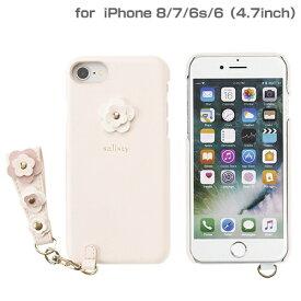 HAMEE ハミィ iPhone SE(第2世代)4.7インチ/ iPhone 8/7/6s/6専用 salisty(サリスティ)P フラワースタッズ ハードケース(ベビーピンク)P-HC002C 276-895603