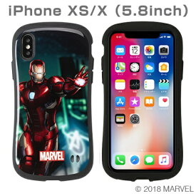 HAMEE ハミィ [iPhone XS/X専用]MARVEL/マーベル iFace First Classケース (アイアンマン) 41-896327