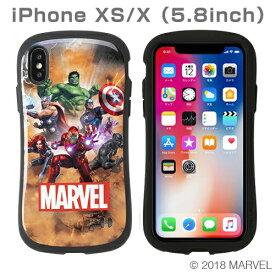 HAMEE ハミィ [iPhone XS/X専用]MARVEL/マーベル iFace First Classケース 41-896334 アベンジャーズ集合