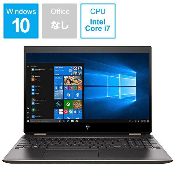 HP ヒューレット・パッカード 5KU78PA-AAAA ノートパソコン Spectre x360 15-df0009TX アッシュブラック [15.6型 /intel Core i7 /SSD:512GB /メモリ:16GB /2018年12月モデル][5KU78PAAAAA]