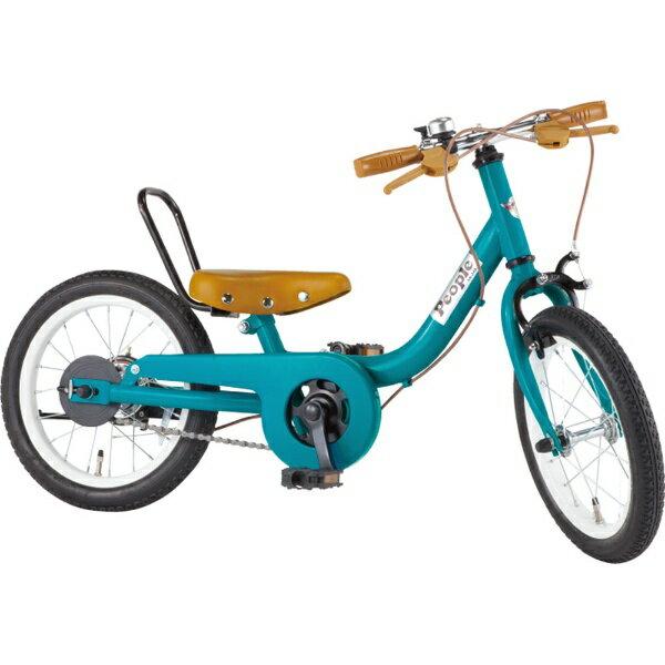 ピープル People 14型 子供用自転車 ケッターサイクル(ブルーミングターコイズ) YGA312【2019年モデル】[YGA312]【組立商品につき返品不可】 【代金引換配送不可】【メーカー直送・代金引換不可・時間指定・返品不可】