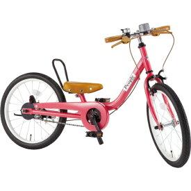 ピープル People 18型 子供用自転車 ケッターサイクル(ラズベリー) YGA315【2019年モデル】【組立商品につき返品不可】 【代金引換配送不可】