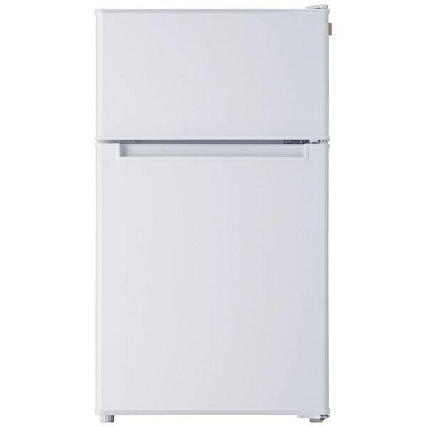 TAGlabel by amadana タグレーベル バイ アマダナ 2ドア冷凍冷蔵庫 refrigerator AT-RF85B(WH) ホワイト [2ドア /右開きタイプ /85L][ATRF85B]【point_rb】