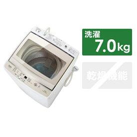 AQUA アクア AQW-GP70G-W 全自動洗濯機 GPシリーズ ホワイト [洗濯7.0kg /乾燥機能無][洗濯機 インバーター 7kg 7キロ 新品 AQWGP70G_W]