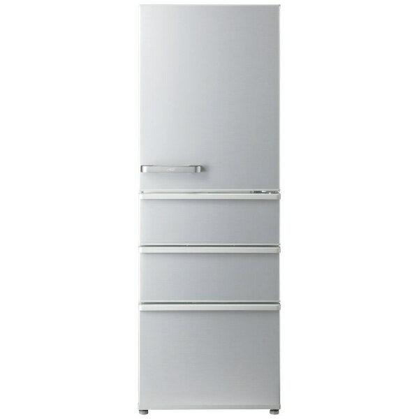 AQUA アクア 【2000円OFFクーポン配布中! 4/20 09:59まで】AQR-36G2-S 冷蔵庫 スタンダードシリーズ ミスティシルバー [4ドア /右開きタイプ /355L][AQR36G2_S]