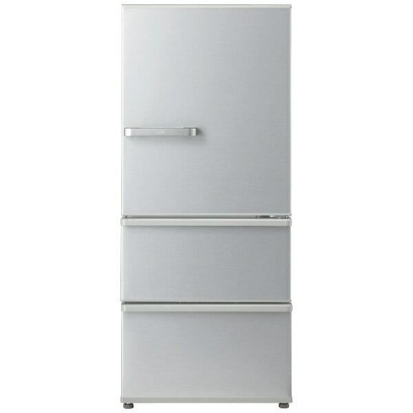 AQUA アクア 【2000円OFFクーポン配布中! 4/20 09:59まで】AQR-27G2-S 冷蔵庫 スタンダードシリーズ ミスティシルバー [3ドア /右開きタイプ /272L][AQR27G2_S]