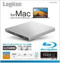 ロジテック Logitec ポータブルブルーレイドライブ USB-A/USB-C[USB3.0・Mac/Win・USBバスパワー]  Mac向け LBD…