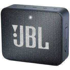 JBL ジェイビーエル 【ビックカメラグループオリジナル】ブルートゥーススピーカー JBLGO2NAVY ネイビー [Bluetooth対応 /防水][JBLGO2NAVY]【point_rb】