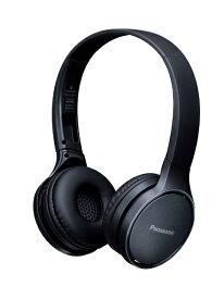 パナソニック Panasonic ブルートゥースヘッドホン ブラック RP-HF410B-K [リモコン・マイク対応 /ワイヤレス][RPHF410BK]