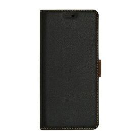 ラスタバナナ RastaBanana Xperia XZ3 薄型手帳ケース サイドマグネット 4584XZ3BO ブラック