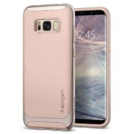 SPIGEN シュピゲン Galaxy S8+ Neo Hybrid Pale Dogwood
