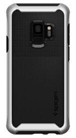 SPIGEN シュピゲン Galaxy S9 Case Neo Hybrid Urban Arctic Silver