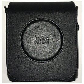富士フイルム FUJIFILM instax SQUARE SQ20用 レザーカメラケース ブラック