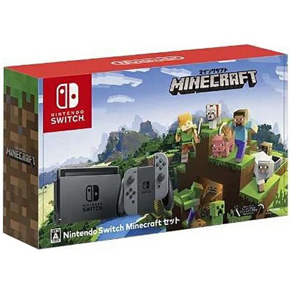 任天堂 Nintendo Switch Minecraftセット HAC-S-KAAGE[ゲーム機本体]