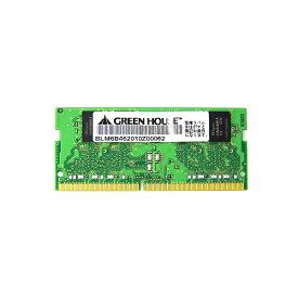 グリーンハウス GREEN HOUSE 増設メモリ PC4-19200(DDR4 2400MHz)対応ノートパソコン用 GH-DNF2400-4GB [SO-DIMM DDR4 /4GB /1枚]