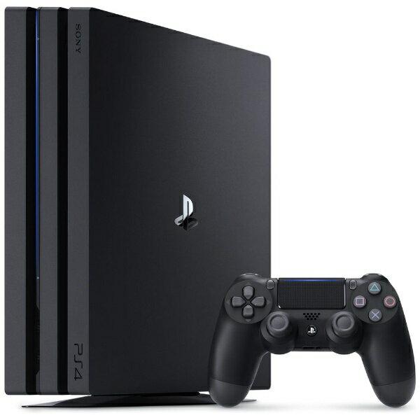 ソニーインタラクティブエンタテインメント Sony Interactive Entertainmen PlayStation 4 Pro (プレイステーション4 プロ) ジェット・ブラック 2TB CUH-7200CB01[CUH-7200CB01][ゲーム機本体]