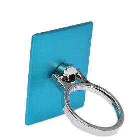 エレコム ELECOM スマートフォン用ストラップ フィンガーリング スタンダード ブルー P-STRBU