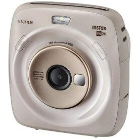 富士フイルム FUJIFILM ハイブリッドインスタントカメラ 『チェキ』 instax SQUARE SQ20 ベージュ[チェキ 本体 カメラ INSSQUARESQ20BEIGE]