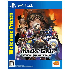 バンダイナムコエンターテインメント BANDAI NAMCO Entertainment .hack//G.U. Last Recode Welcome Price!! PLJS-36095 [PS4]【PS4】
