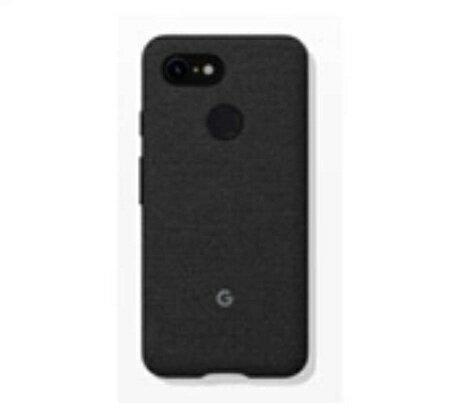 Google グーグル Fabric Case for Pixel 3(ブラック) ZUA05L