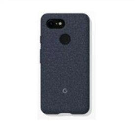 Google グーグル Fabric Case for Pixel 3(ネイビー) ZUA05M