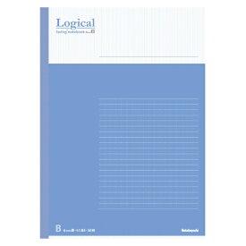 ナカバヤシ Nakabayashi [ノート] スイング・ロジカルノート (セミB5 /50枚 /ロジカル B罫 6mm 35行) COCノB5015B ブルー