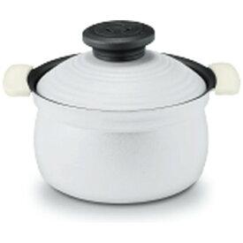 アピデ 《IH対応》2合炊きアルミ炊飯鍋 KKNRC002WH ホワイト