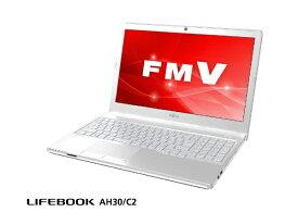 富士通 FUJITSU FMVA30C2W ノートパソコン アーバンホワイト [15.6型 /HDD:500GB /メモリ:4GB /2018年11月モデル]