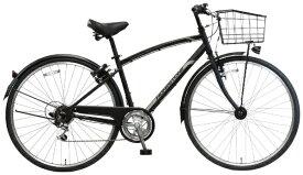 MARUKIN マルキン 【ビックグループオリジナル】27型 自転車 オネストワン(マットブラック/外装6段変速) PB-19-036【2019年モデル】【組立商品につき返品不可】【point_rb】 【代金引換配送不可】