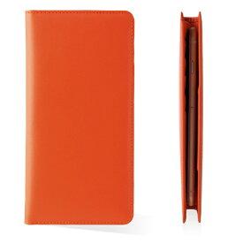 UFFIZI ウフィツィ お札も入る手帳型汎用ケース「シモーニ」 UFZLMCSMN-OR オレンジ