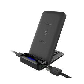 樫村 KASHIMURA ワイヤレス充電器 2WAY USBポート KW-3 ブラック [1ポート][KW3]