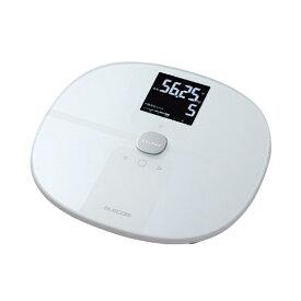 エレコム ELECOM 「エクリア 体組成計」(Wi-Fi通信機能搭載) HCS-WFS01WH ホワイト [スマホ管理機能あり] HCS-WF01シリーズ ホワイト HCS-WFS01WH [スマホ管理機能あり][体重計 体脂肪計 HCSWFS01WH]
