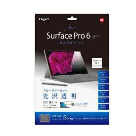 ナカバヤシ Nakabayashi 【ビックカメラグループオリジナル】Surface Pro 6用 液晶保護フィルム ブルーライトカット 光沢透明 TBF-BSFP18FLKBC【point_rb】