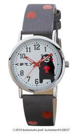 くまモン KUMAMON KUMANON くまモン柄腕時計  [レディース腕時計] くまモン KM-AL082-APL [正規品]