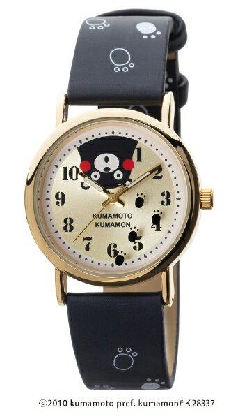 くまモン KUMANON くまモン柄腕時計 【正規品】 [レディース腕時計] KM-AL082-BKG