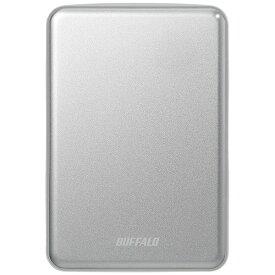 BUFFALO バッファロー HD-PUS1.0U3-SVD 外付けHDD シルバー [ポータブル型 /1TB][HDPUS10U3SVD]