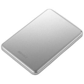 BUFFALO バッファロー HD-PUS2.0U3-SVD 外付けHDD シルバー [ポータブル型 /2TB][HDPUS20U3SVD]