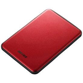 BUFFALO バッファロー HD-PUS2.0U3-RDD 外付けHDD レッド [ポータブル型 /2TB][HDPUS20U3RDD]