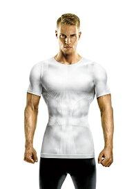 La-VIE ラ・ヴィ もっとすごいぞ!強力加圧シャツ 男性用(Lサイズ/白) 3B-3772