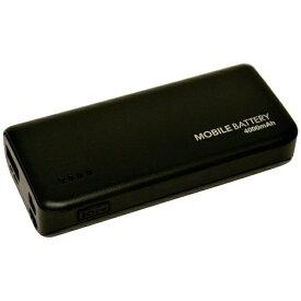 ラスタバナナ RastaBanana タブレット/スマートフォン対応[micro USB/USB給電] USBモバイルバッテリー +micro USBケーブル 2.1A ブラック RLI040M2A01BK [4000mAh /1ポート /充電タイプ]