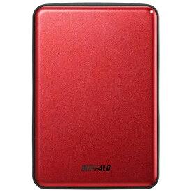 BUFFALO バッファロー HD-PUS1.0U3-RDD 外付けHDD レッド [ポータブル型 /1TB][HDPUS10U3RDD]
