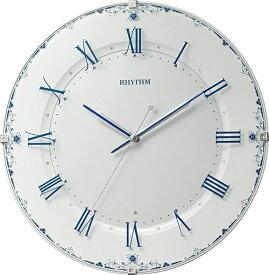 リズム時計 RHYTHM 掛け時計 【アラカルト539】 8MY539SR04 [電波自動受信機能有]