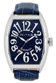フランク三浦 Frank Miura メンズ腕時計 フランク三浦 六号機 ハイパーネイビー【正規品】 FM06K-NV