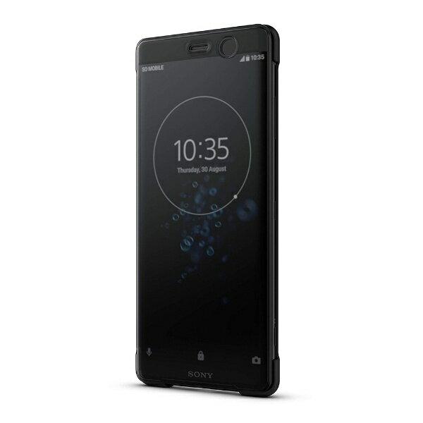 ソニー SONY Xperia XZ3 Style Cover Touch SCTH70JP/B ブラック[SCTH70JPB]